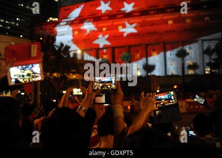SINGAPORE. 2015. Golden Jubilee SG50 - Stock Photo