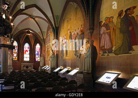 geography / travel, Germany, Baden-Wuerttemberg, Bretten, museum / museums, Melanchthon House, interior view, Memorial - Stock Photo