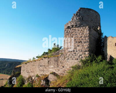 geography / travel, Germany, Bavaria, Kipfenberg, Part of Arnsberg Castle in ruin, Additional-Rights-Clearance-Info - Stock Photo