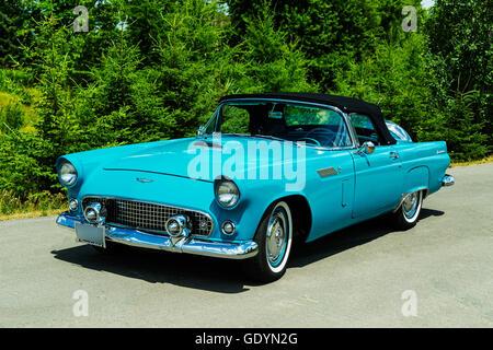 1956 Ford Thunderbird - Stock Photo