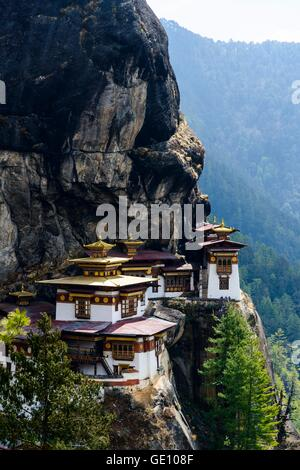geography / travel, Bhutan, Paro, the Tiger Nest, Additional-Rights-Clearance-Info-Not-Available - Stock Photo