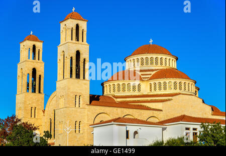 Agioi Anargyroi Orthodox Cathedral in Paphos - Cyprus - Stock Photo
