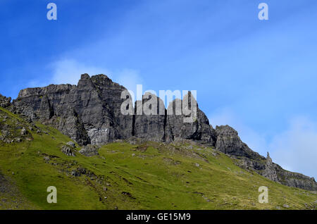 Gorgeous view of the Old Man of Storr on Trotternish Pennisula on the Isle of Skye. - Stock Photo