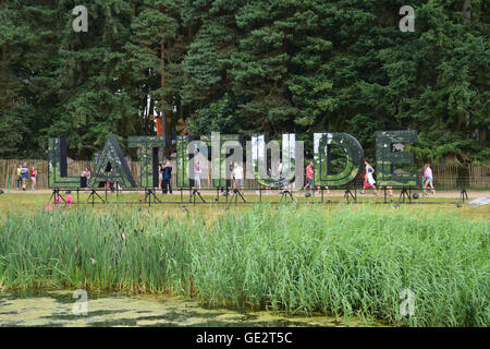 Latitude Festival 2016, Henham Park, Suffolk, UK - Stock Photo