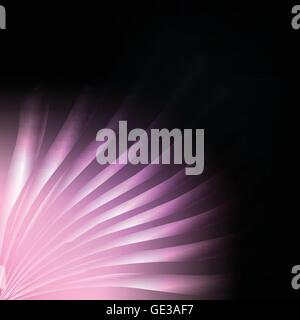 Pink burst abstract background vector lines for poster - Stock Photo