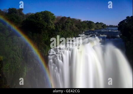 geography / travel, Zambia, Zimbabwe, Victoria Falls, Additional-Rights-Clearance-Info-Not-Available - Stock Photo