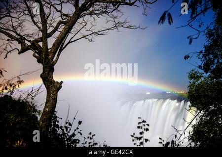 geography / travel, Zambia, Victoria Falls and Zambezi, Additional-Rights-Clearance-Info-Not-Available - Stock Photo