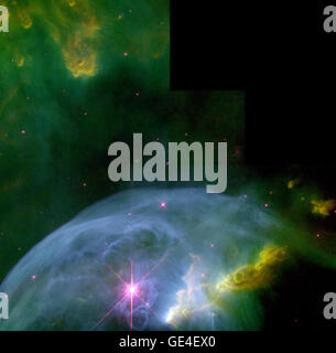 Astronomers, using the Wide Field Planetary Camera 2 on board NASA's Hubble Space Telescope in October and November - Stock Photo
