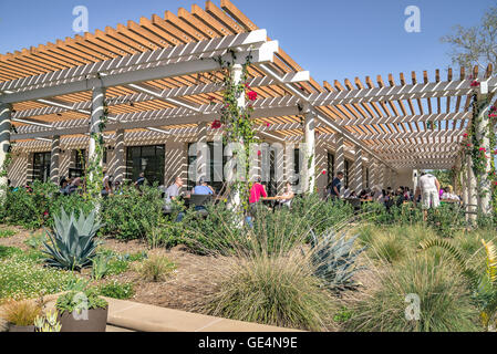 Cafeteria At The Huntington Library, Art Collections And Botanical Gardens    Stock Photo