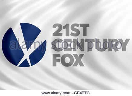 21st Century Fox icon logo - Stock Photo