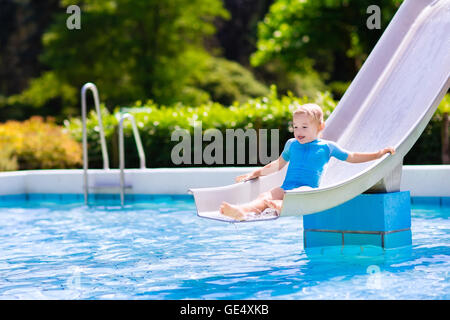 Sexy girl dating a boy in swimming pool