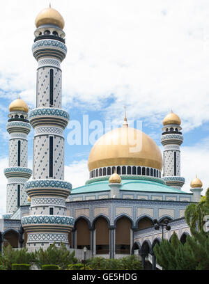 Palace in Bandar Seri Begawan, Brunei - Stock Photo