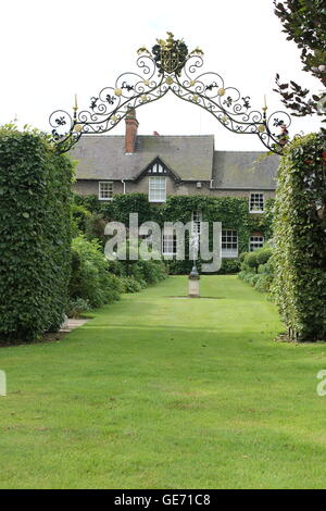 Burrows gardens, Derbyshire - Stock Photo