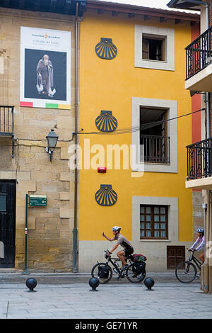 Calle de santiago street sign made of tiles madrid - Calle santiago madrid ...