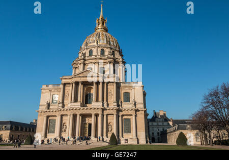 Palace of Les Invalides in Paris - Stock Photo