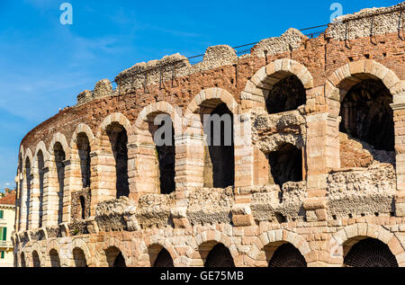 Details of Arena di Verona - Italy - Stock Photo