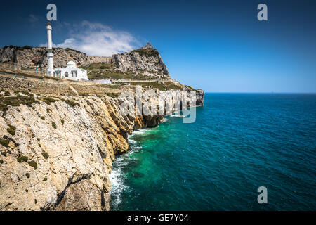 Gibraltar as Seen from Europa Point - Stock Photo