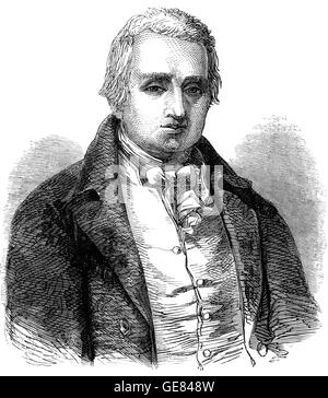 William Cobbett (1763 – 1835) was an English polemicist, farmer and journalist who believed that reforming Parliament - Stock Photo
