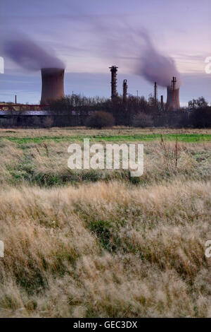 Billingham Chemical Works, Stockton-on-Tees, Teesside, England, UK - Stock Photo