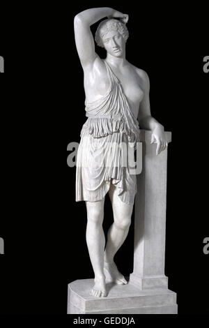 Wounded Amazon, after Polyclitus, Kresilas, about 430 BC - Stock Photo