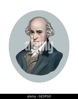 James Watt, 1736-1819, Engineer, Inventor - Stock Photo