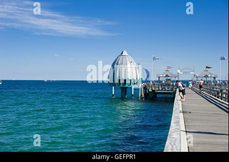 Pier, Groemitz - Stock Photo