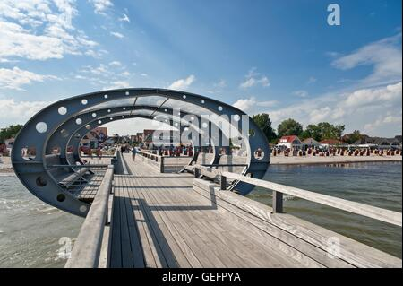 Pier, Kellenhusen - Stock Photo