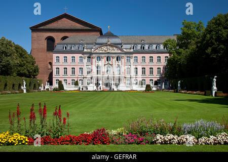 Electoral palace, Constantine basilica, Trier - Stock Photo