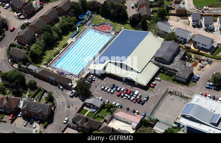 Overhead View Of Lanes Of Swimming Pool Stock Photo Royalty Free Image 47841776 Alamy