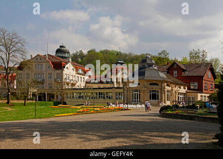 Spa gardens, Bad Salzschlirf - Stock Photo