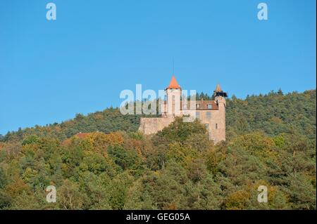 Berwartstein Castle, Erlenbach - Stock Photo