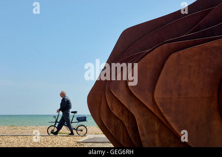 The East Beach Cafe at Littlehampton. West Sussex. England - Stock Photo