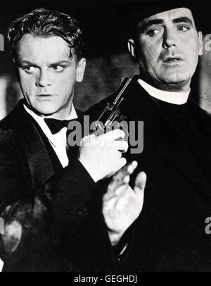 James Gagney, Pat O'Brian *** Local Caption *** 1938, Angels With Dirty Faces, Chicago - Engel Mit Schmutzigen Gesichtern - Stock Photo
