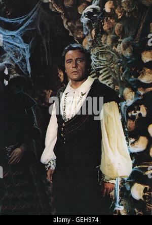 Richard Burton *** Local Caption *** 1967, Doctor Faustus, Doktor Faustus - Stock Photo