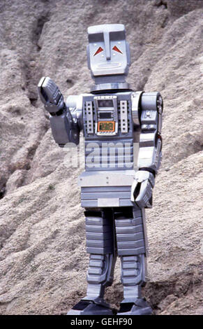 Roboter Marvin *** Local Caption *** 1982, Hitch-Hiker's Guide To The Galaxy, The, Per Anhalter Durch Die Galaxis - Stock Photo