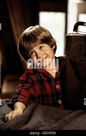 Alex D. Linz Alex (Alex D. Linz) hat die Windpocken und ist allein zu Haus. Pech fuer ein Verbrecherquartett, das - Stock Photo