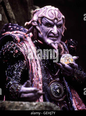 Paul Freeman  Magier Ivan Ooze (Paul Freeman) *** Local Caption *** 1995, Mighty Morphin Power Rangers - The Movie, - Stock Photo