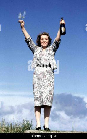 Ruth McCabe Mary (Ruth McCabe) liebt den genialen Christy. *** Local Caption *** 1989, My Left Foot, Mein Linker - Stock Photo