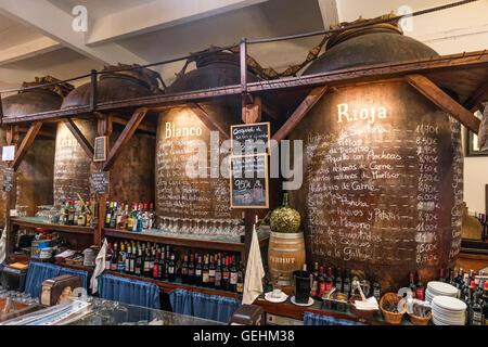 Bodegas Mazon Tapaz Bar Santander, Cantabria, Spain - Stock Photo
