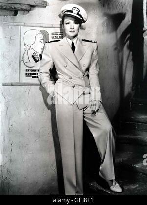 MARLENE DIETRICH, 1940 Bijou (Marlene Dietrich)  *** Local Caption *** 1940, Seven Sinners, Das Haus Der Sieben - Stock Photo