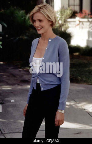 Cameron Diaz Mary (Cameron Diaz) *** Local Caption *** 1998, There's Something About Mary, Verrueckt Nach Mary - Stock Photo