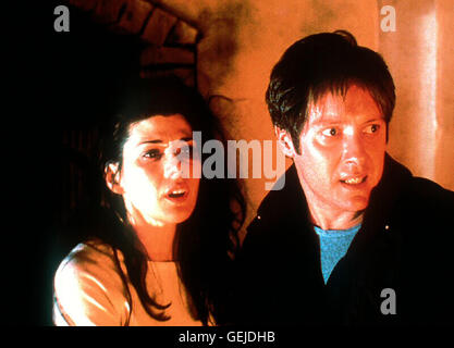Marisa Tomei, James Spader Polly (Marisa Tomei),  Campbell (James Spader) *** Local Caption *** 2000, Watcher, The, - Stock Photo