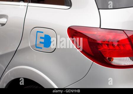 Mercedes Benz B Class Electric Drive - Stock Photo