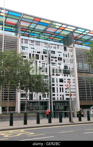 Home Office and Department for Communities and Local Government (DCLG), Marsham Street, London, England, Great Britain, - Stock Photo