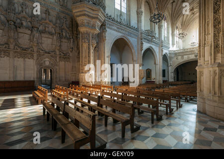 Church interior in monastery of Saint John of the Kings. - Stock Photo