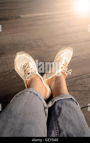 Relax time with one fine day. - Stock Photo