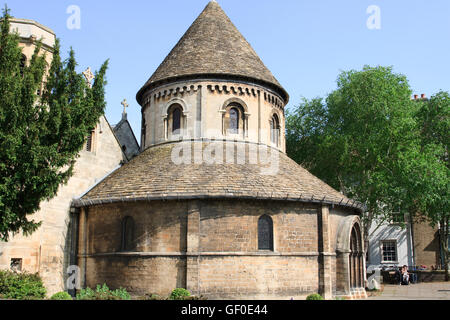 The Church of the Holy Sepulchre, Cambridge, England. - Stock Photo
