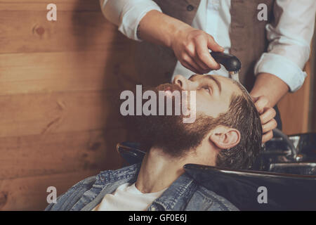 Modern hairstyle industry - Stock Photo