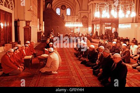 Grand Mosque, Ulu Cami, Bursa, Turkey - Stock Photo