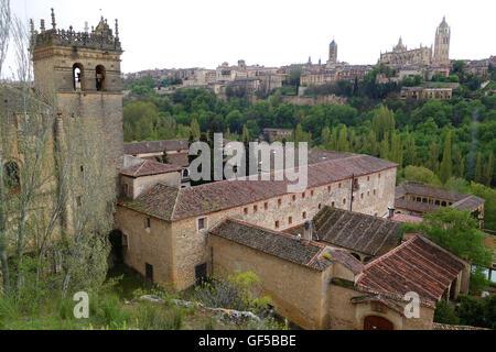 Segovia Spain The monastery Monasterio de Santa Maria del Parral - Stock Photo